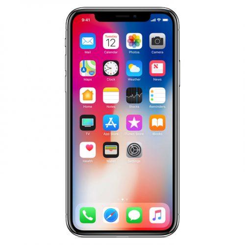 「iPhone X」でホーム画面に戻る方法