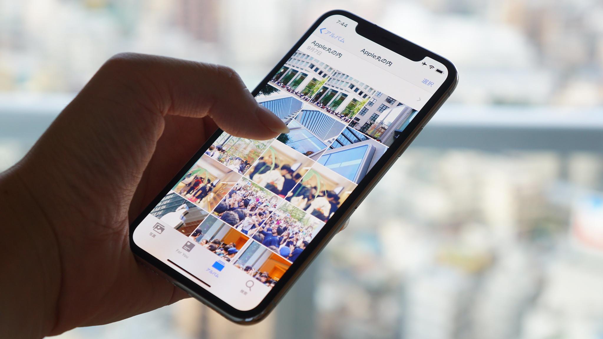 iOS 13の新機能:これは便利、ついに写真/動画の傾き、縦横方向の補正が可能に