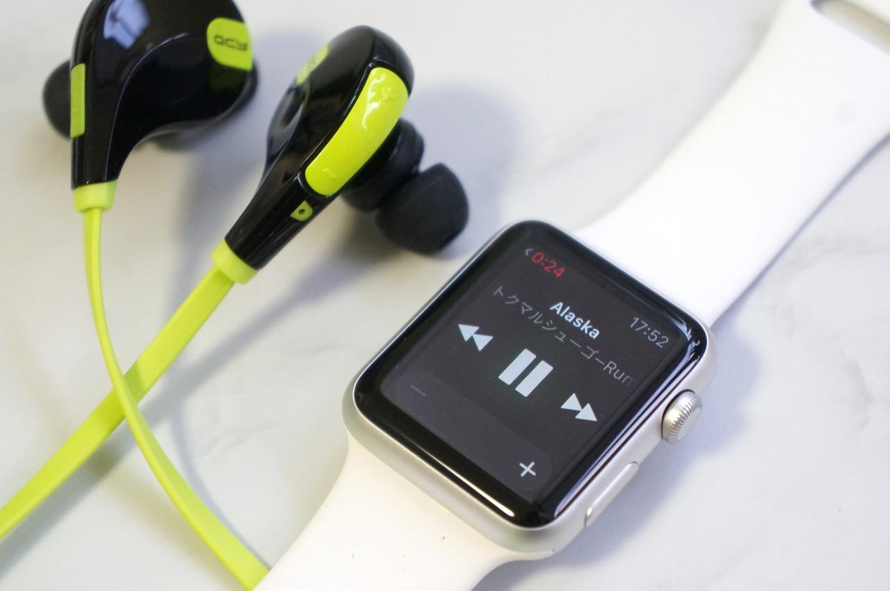 Apple Watchで音楽を再生する方法