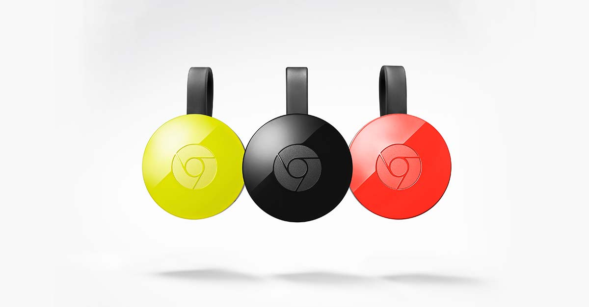 Chromecast(クロームキャスト)の設定方法
