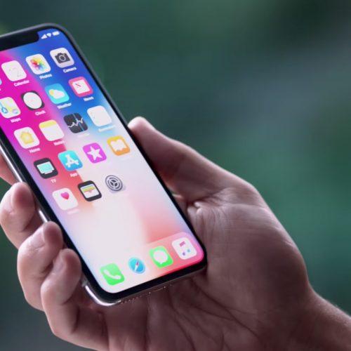 「iPhone X」でスクリーンショットを撮る方法