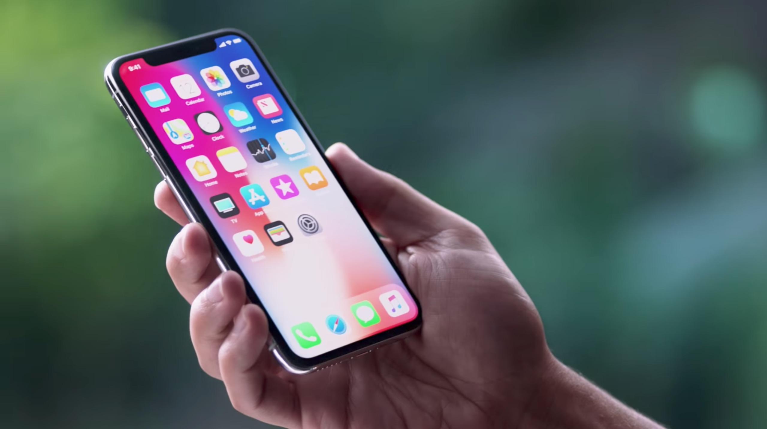 「iPhone XS」でスクリーンショットを撮る方法
