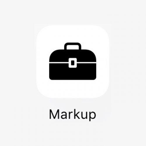 iOS 10 新機能:画像編集ができる「Markup」の使い方〜部分拡大/文字入れ/線入れなど