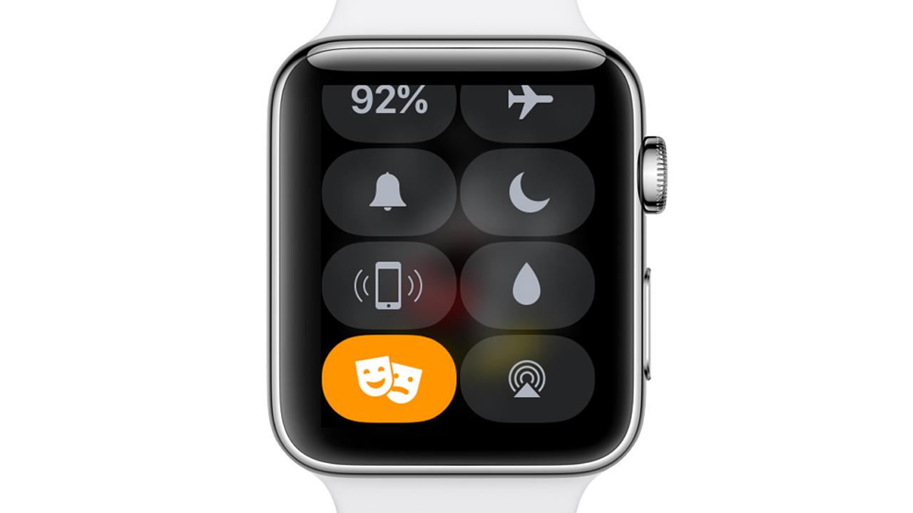 映画館でApple Watchを光らせない、新機能「シアターモード」の使い方