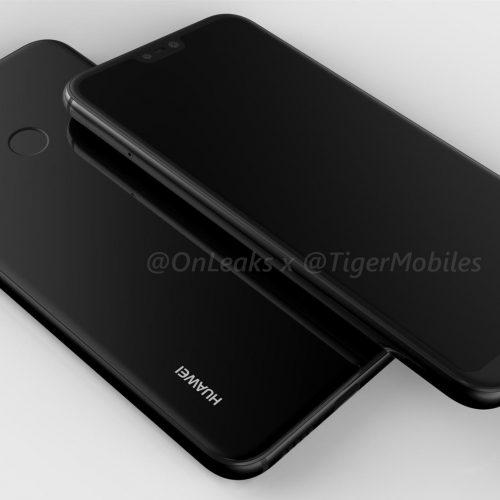 「HUAWEI P20 Lite」の実機写真とスペックがリーク。iPhone Xライクの切り欠き搭載