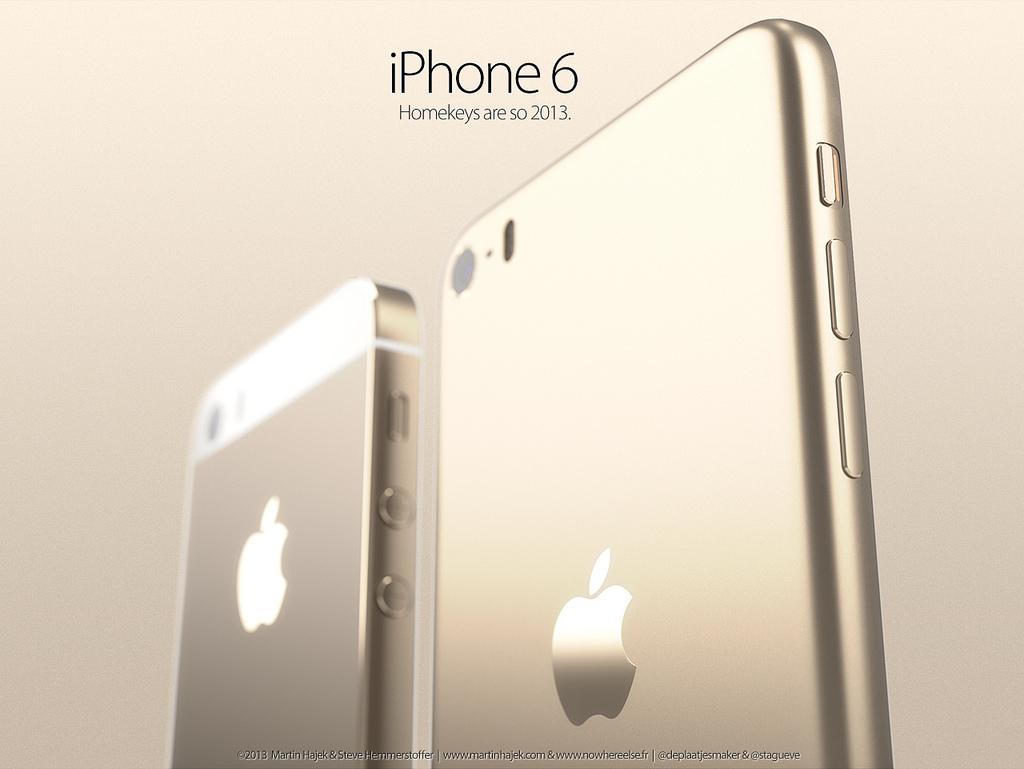 iPhone 6のデザインはこうなる!?非公式のコンセプト画像が公開