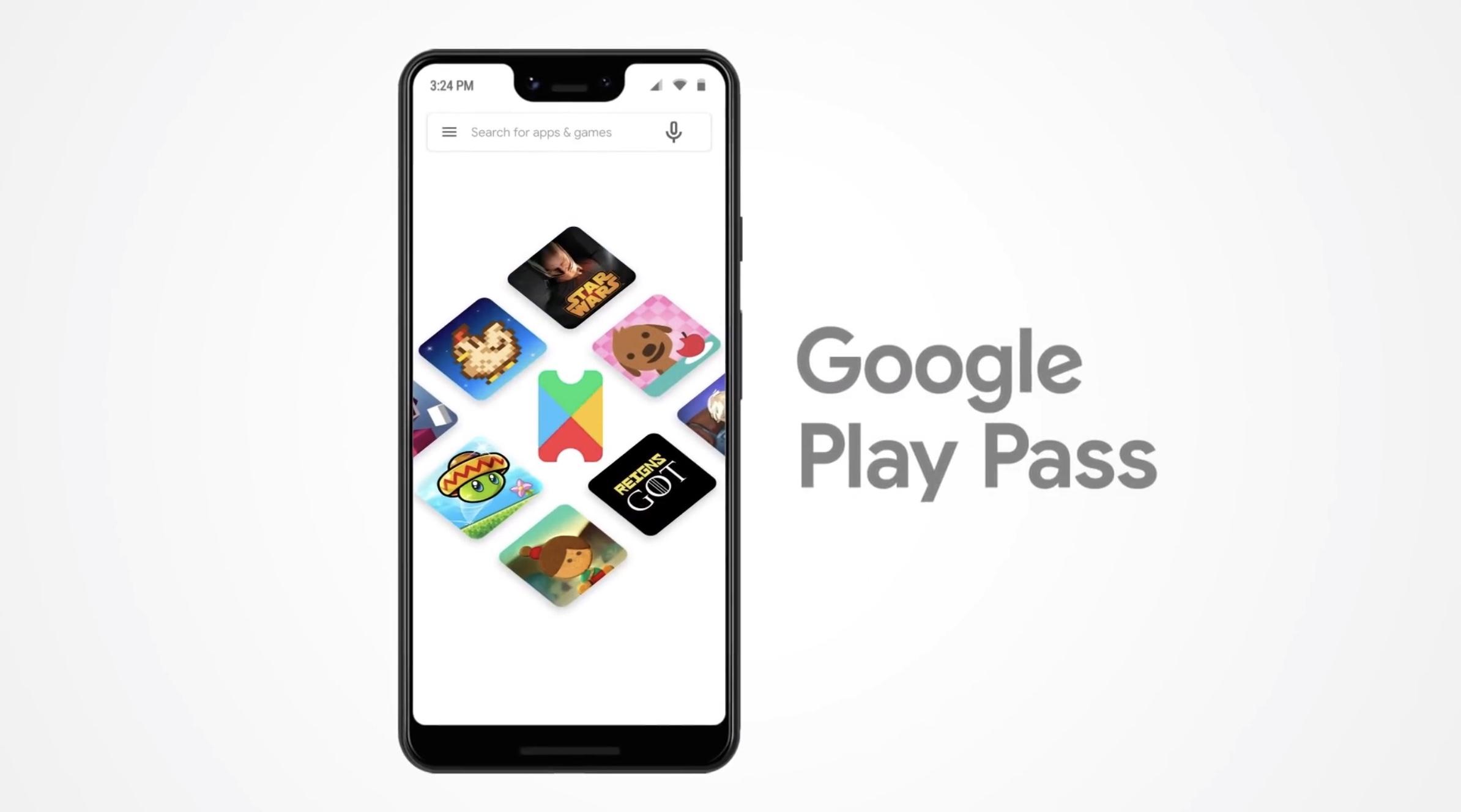 Google、ゲームもアプリも遊び放題の「Play Pass」登場。月額4.99ドル
