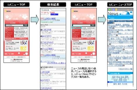 NTTドコモ、imenuを4月に全面リニューアル。