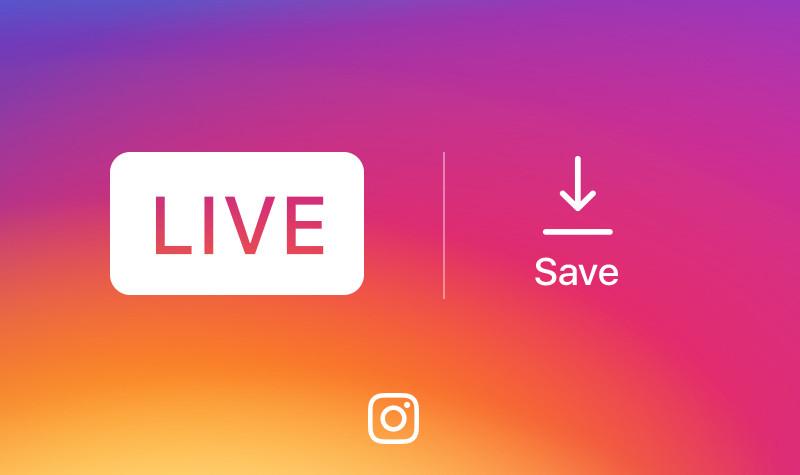 インスタグラム、「ライブ動画」の保存機能を提供開始