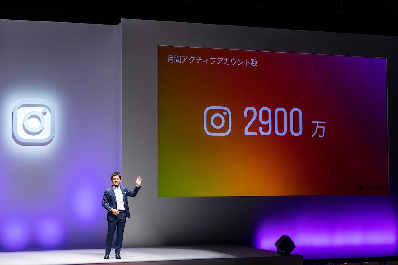 インスタグラム、日本国内の月間アクティブユーザーが2900万人を突破