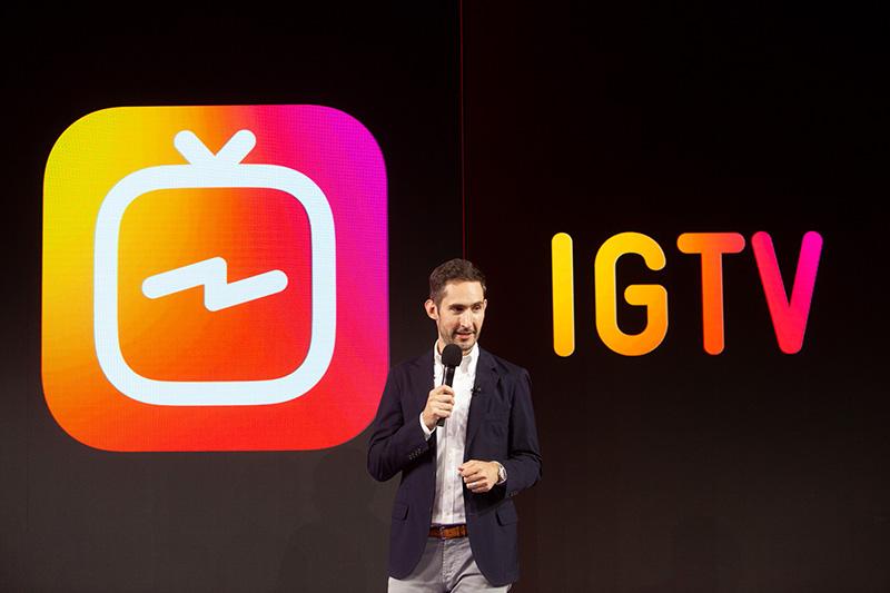 インスタグラム、YouTube対抗の新アプリ「IGTV」発表。最大60分の動画投稿に対応