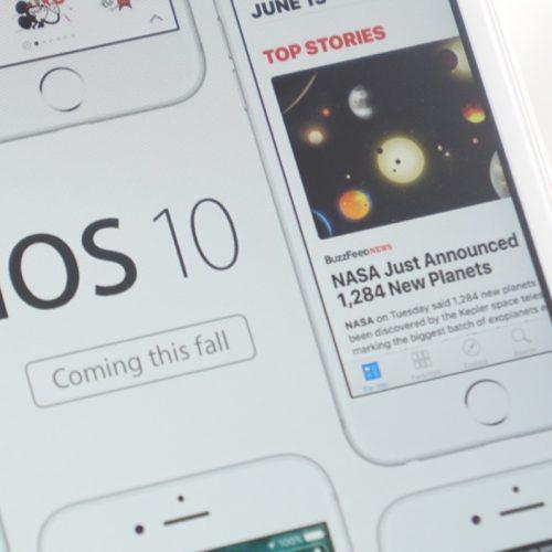 iOS 10の新機能まとめ、史上最大のアップデートで今秋登場