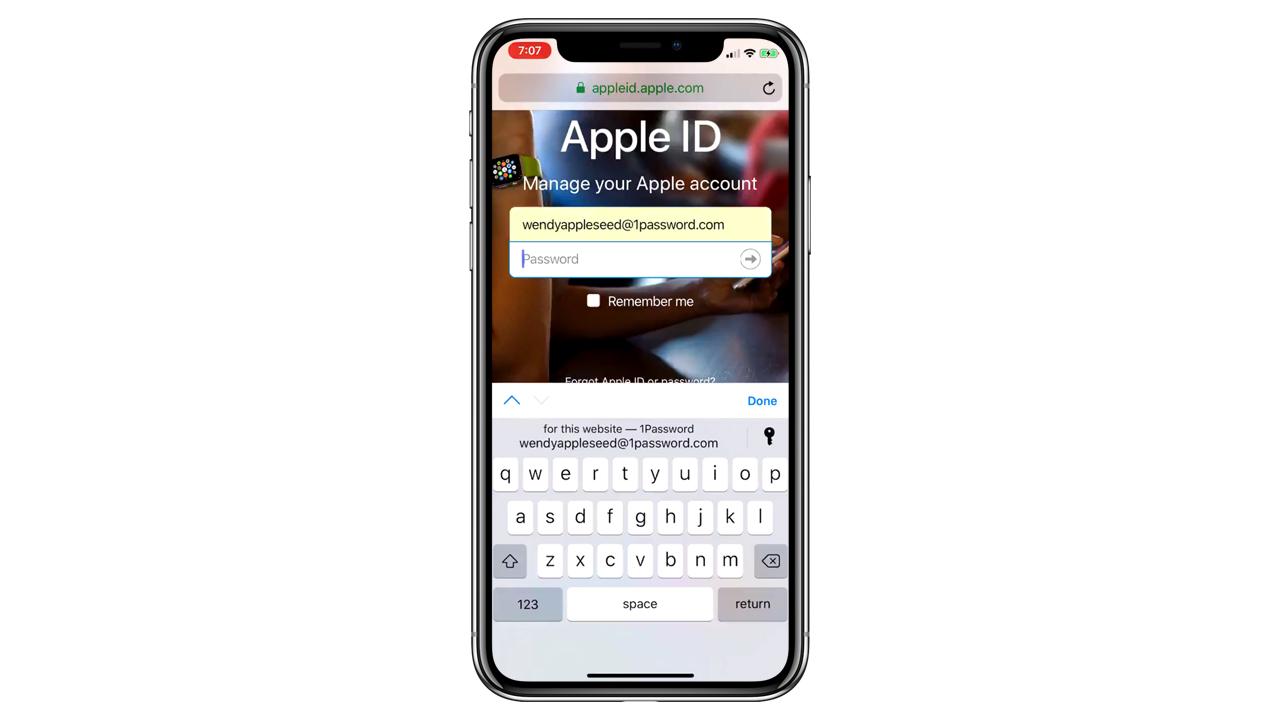 iOS 12、外部アプリを起動せずパスワードの自動入力が可能に