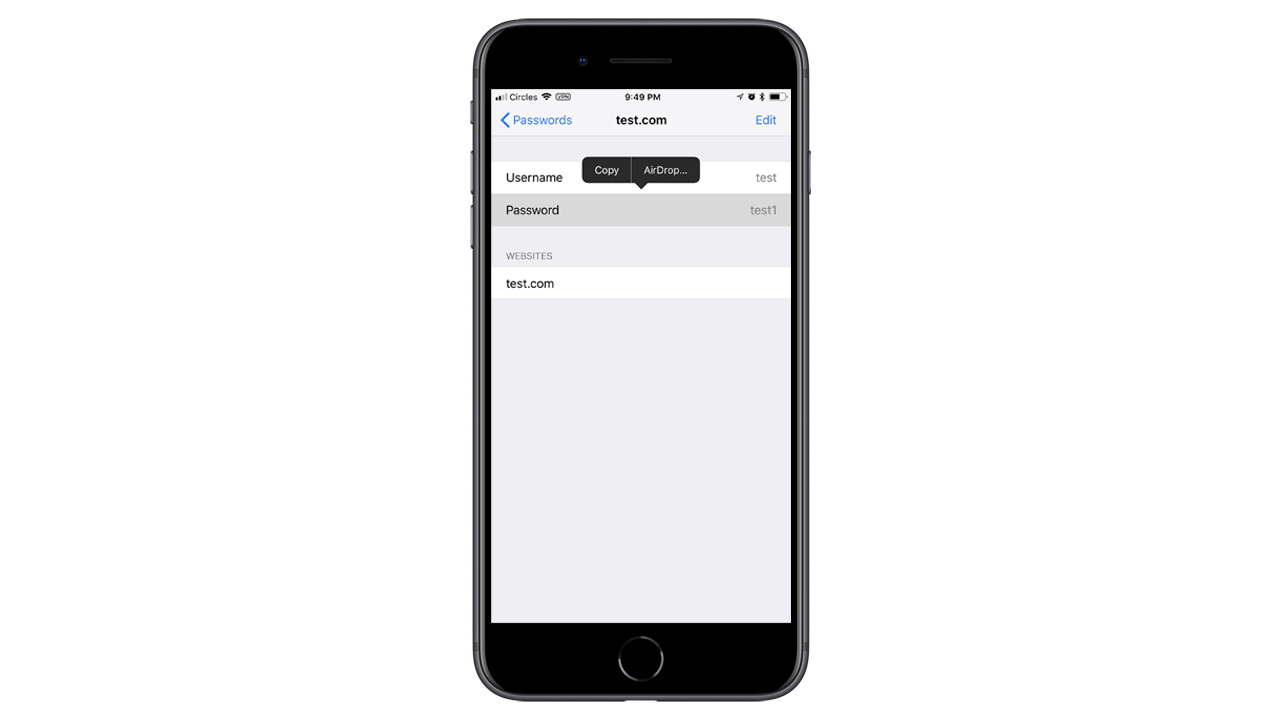 iOS 12、「AirDrop」を使ったパスワード共有が可能に