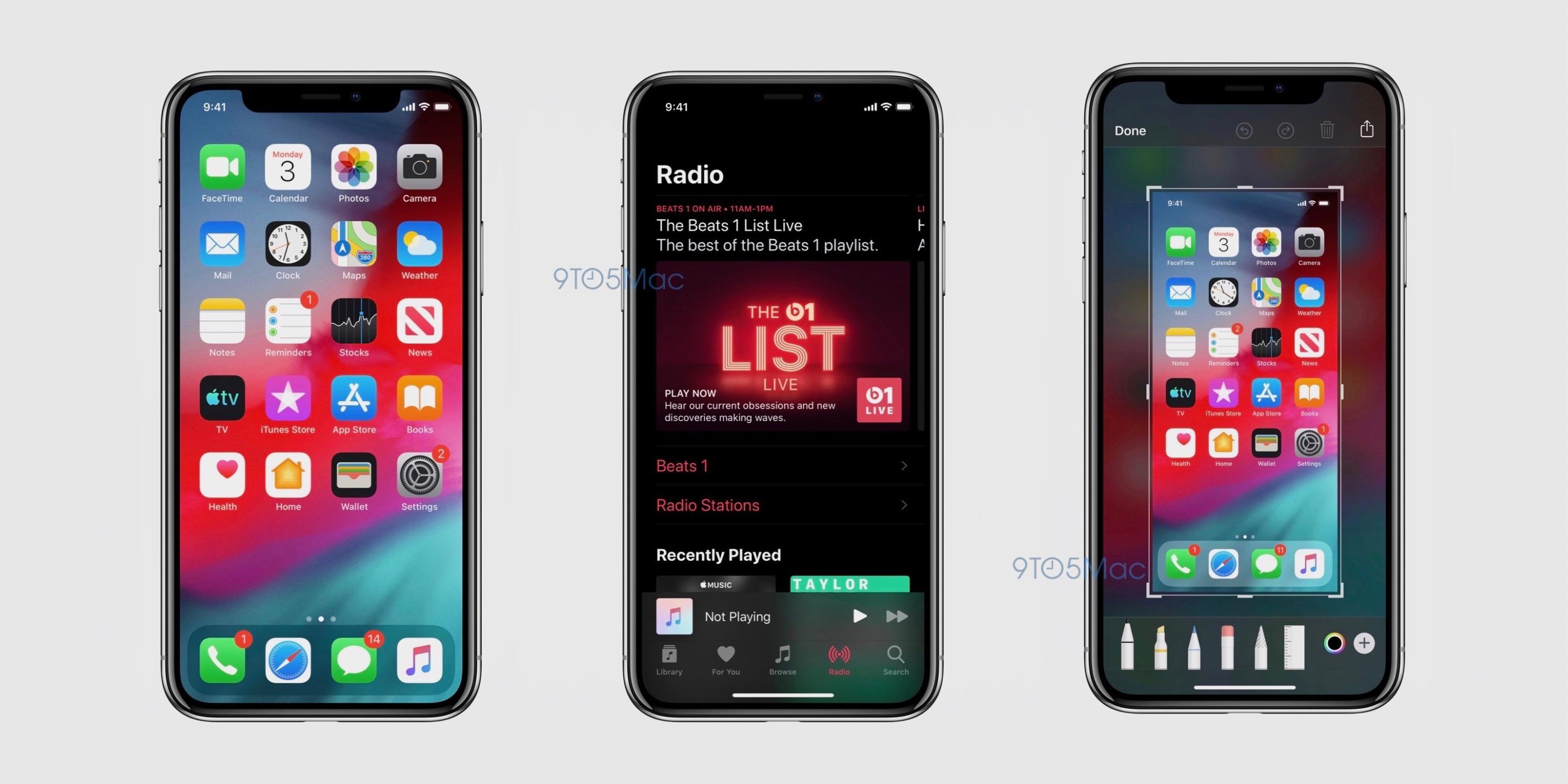 「iOS 13」のスクショが流出、さらなる新機能と変更点が明らかに