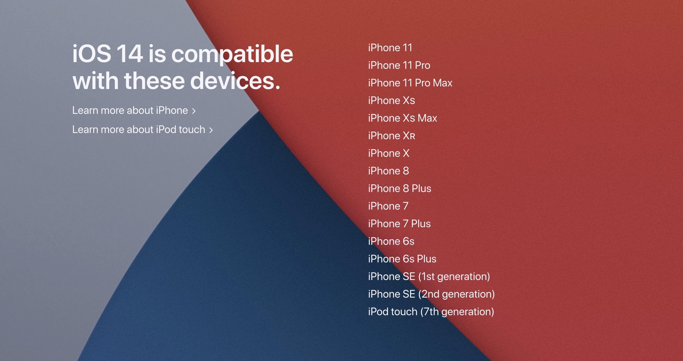 iOS 14、初代iPhone SEもアップデート可能に