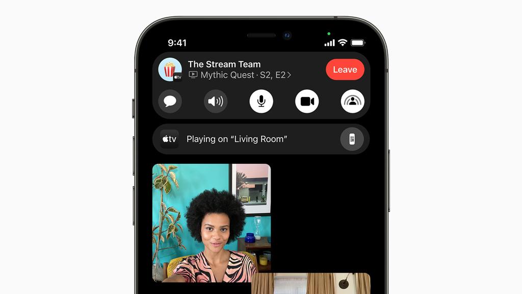 iOS 15の新機能:FaceTime/ビデオ通話でミュートのまま話すと通知でお知らせ