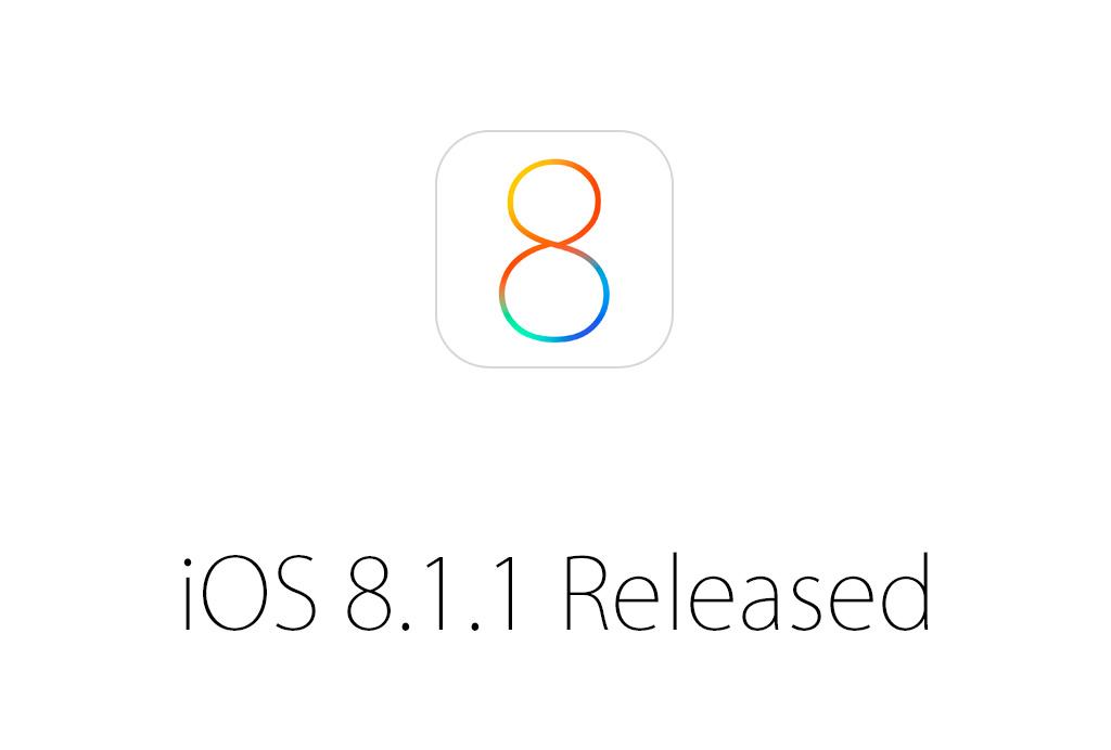 速報:iOS 8.1.1がリリース、バグの修正とiPad 2とiPhone 4sのパフォーマンスが改善