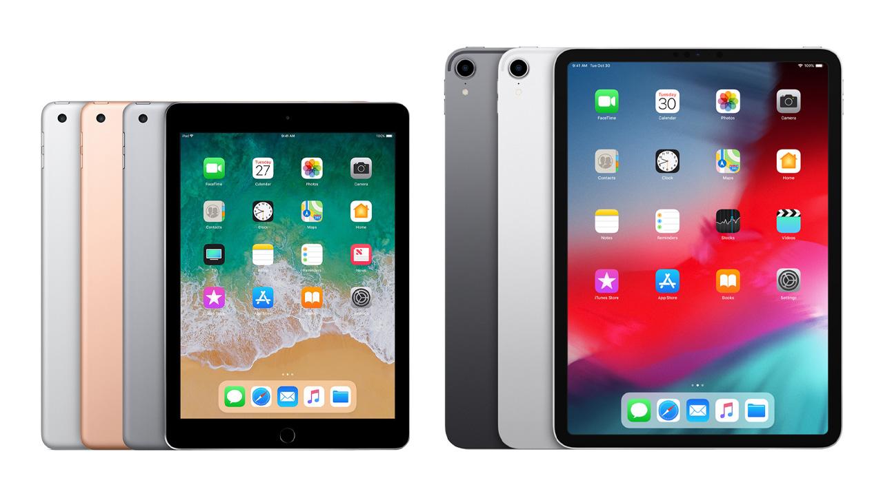 新型iPad、あまりにも多い7つの未発表モデルが確認される