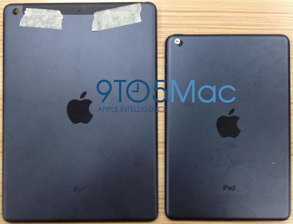 次期iPadのバックパネル画像がリークーiPad miniと同じデザインに。
