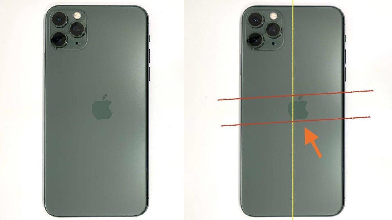 超レア、AppleロゴがズレたiPhone 11 Proが30万で売れる?