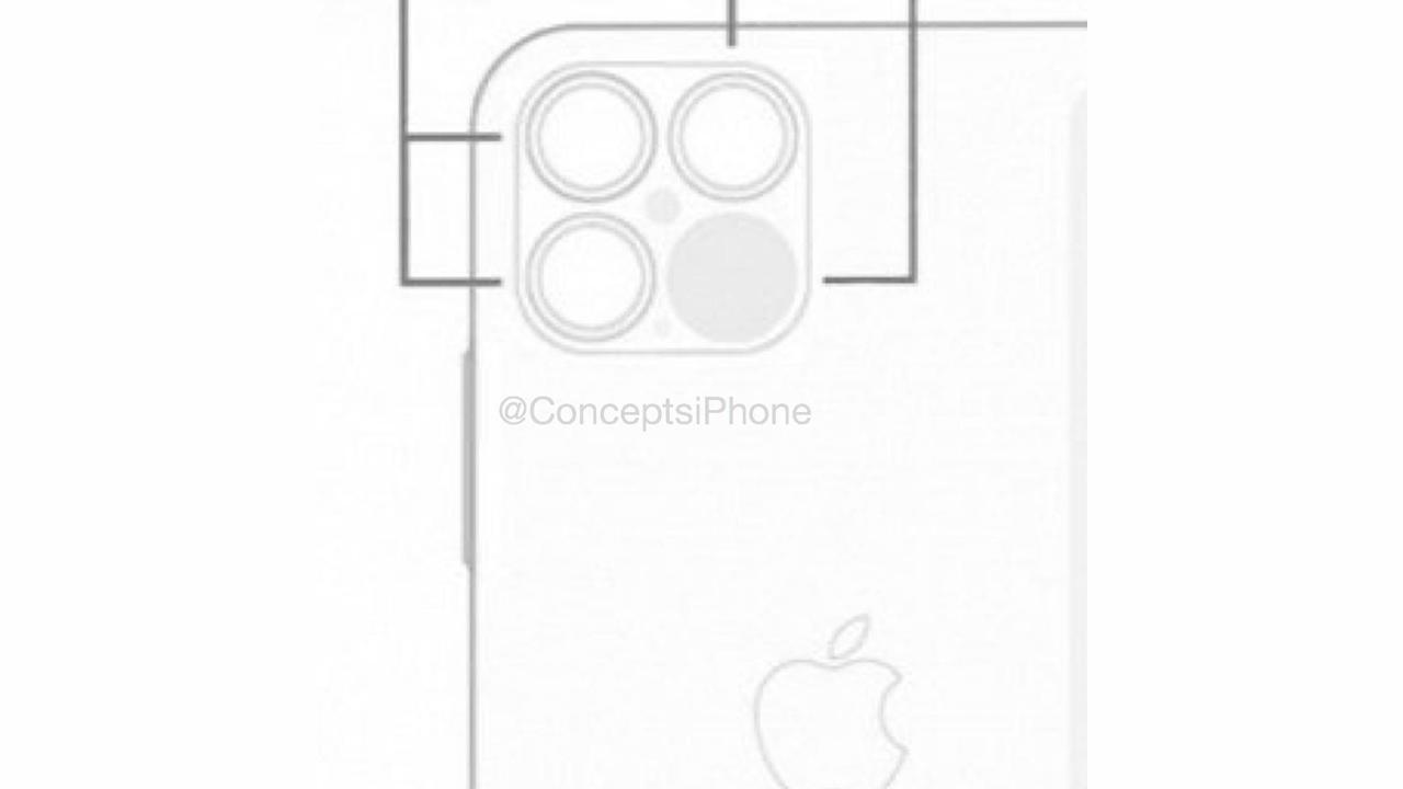 iPhone 12、4眼カメラの画像が発見される