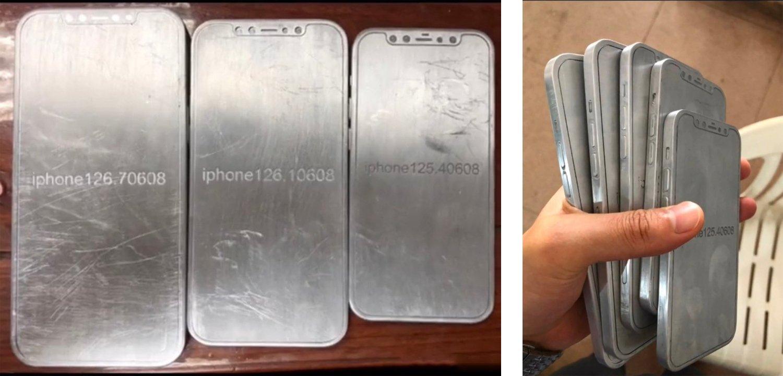 iPhone 12の金型流出。全モデルがフラットエッジ採用か
