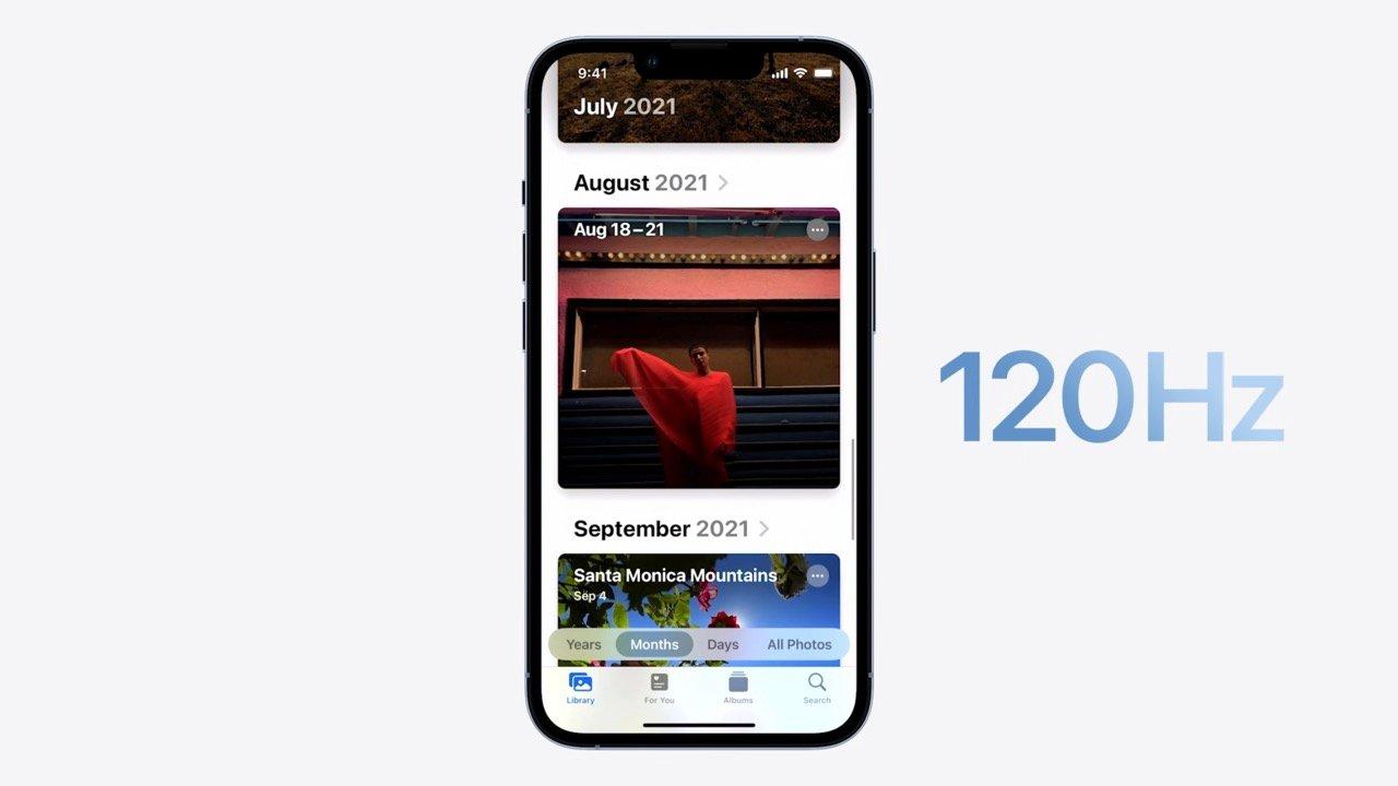 iPhone 13 Pro|13 Pro Max、リフレッシュレート120Hzで動作しない問題が近日中に解消へ