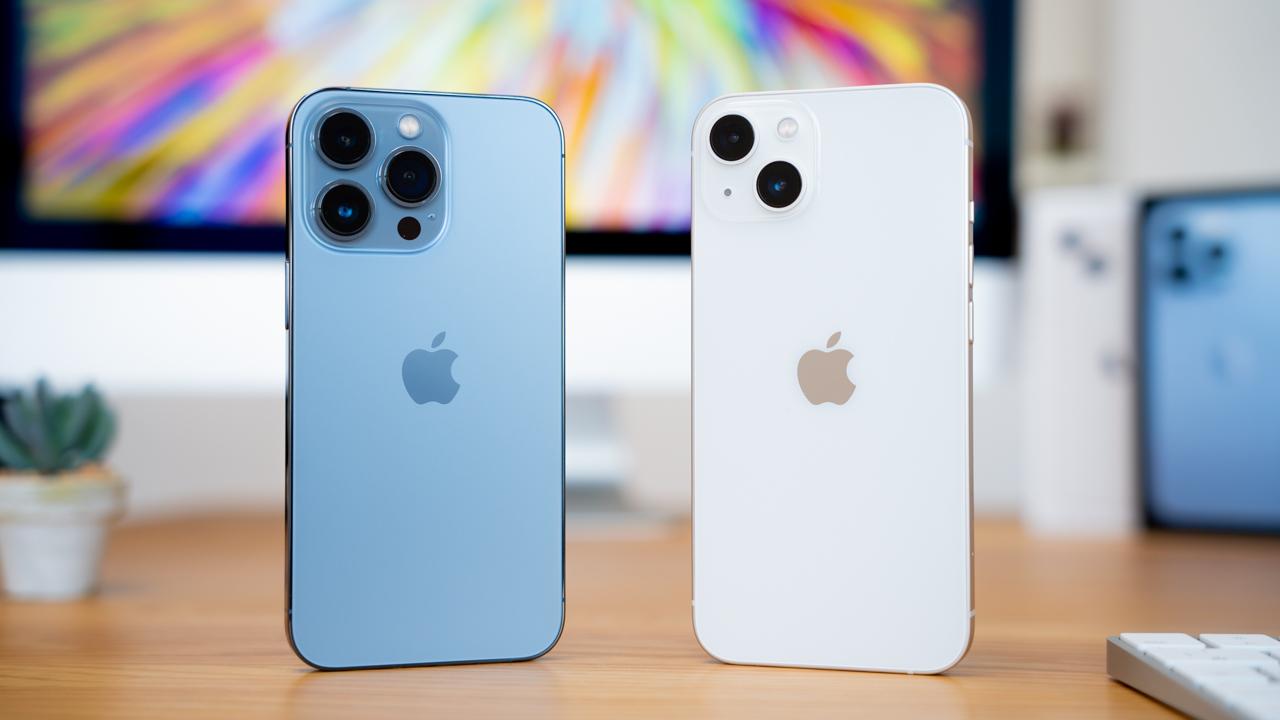 iPhone 13の違いを比較。13 Pro・13 mini・13 Pro Maxおすすめは?