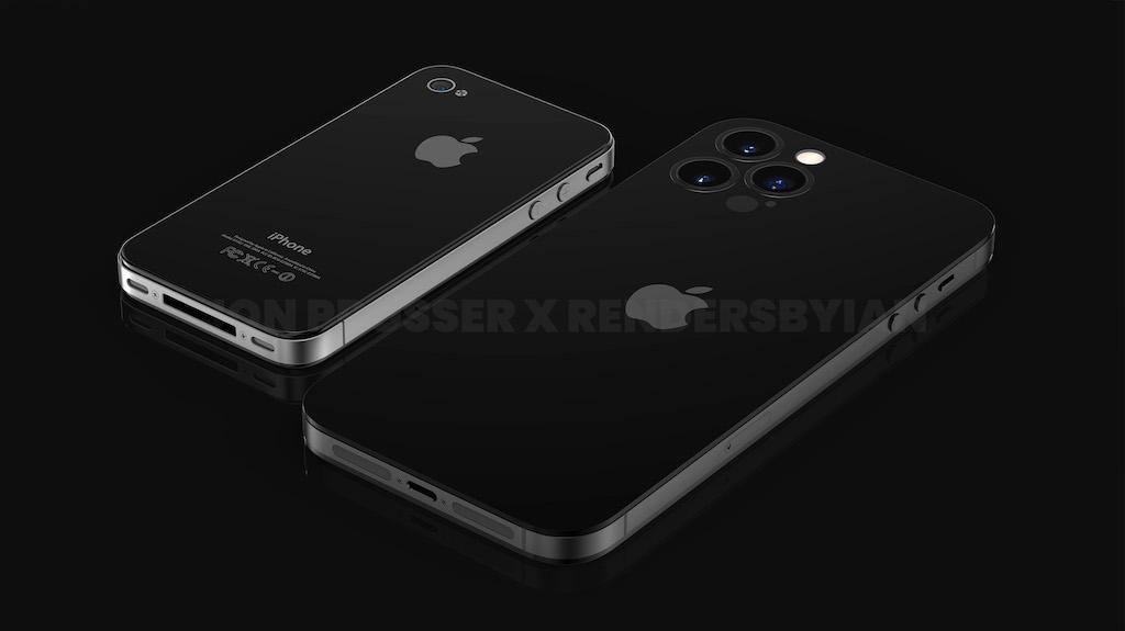"""iPhone 14は""""4""""デザインに刷新か。ノッチなし・カメラ突起なし・パンチホールの噂"""