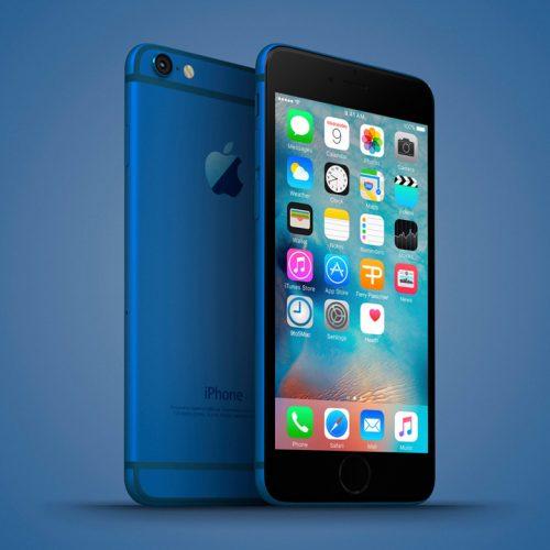 iPhone 7に新色ディープブルー追加、スペースグレイ廃止?
