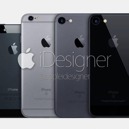 iPhone 7で新色スペースブラックが追加、今年は黒が2色?