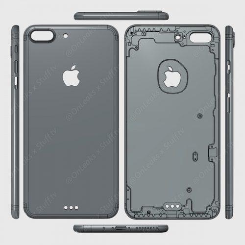 iPhone 7 Plusのプロトデザインがリーク
