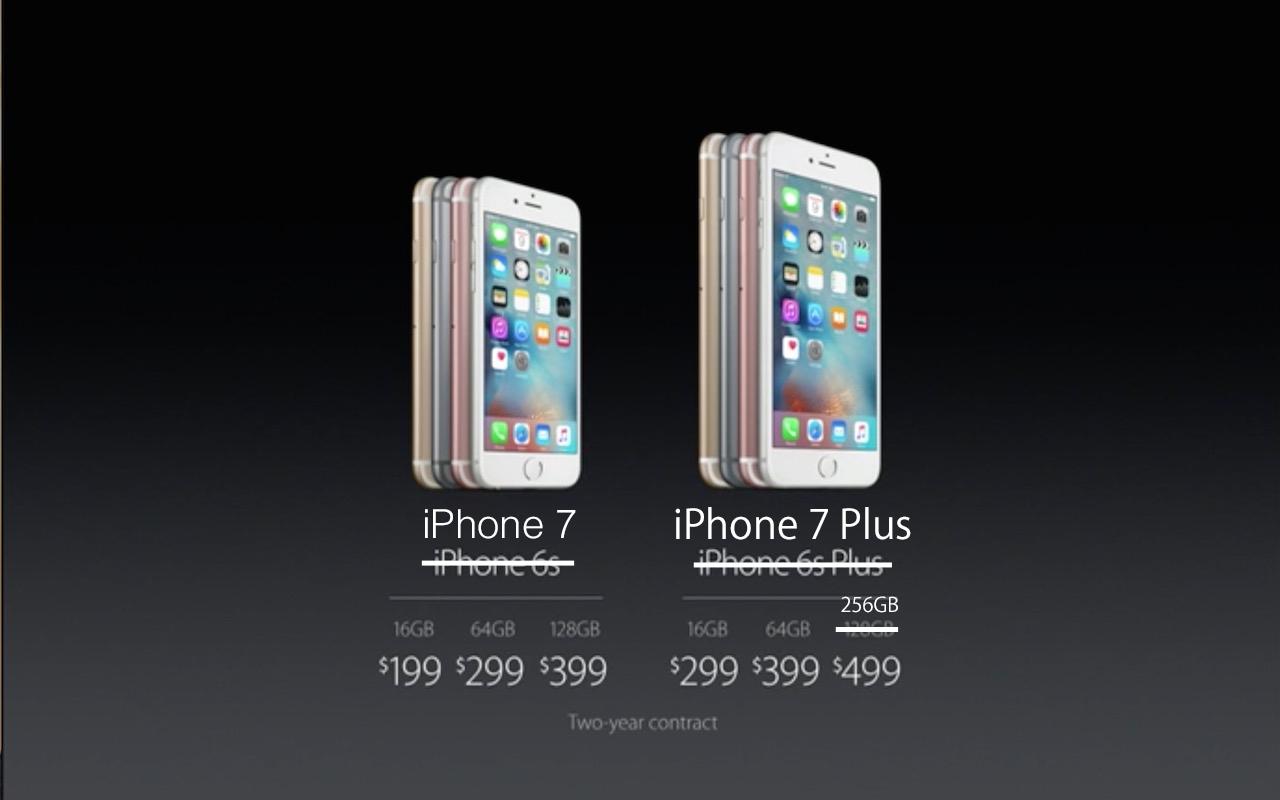 容量倍増、「iPhone 7 Plus」は256GBモデルを投入、バッテリー容量も10%アップか