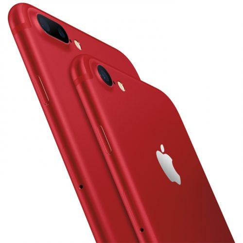 Apple、iPhone 7 / 7 Plusの新色「レッド」を3月25日から発売