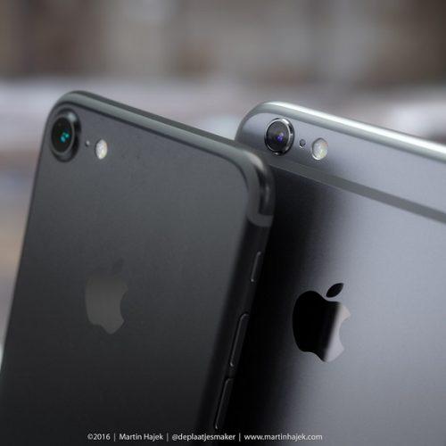iPhone 7、新色のスペースブラックとされる画像がリーク