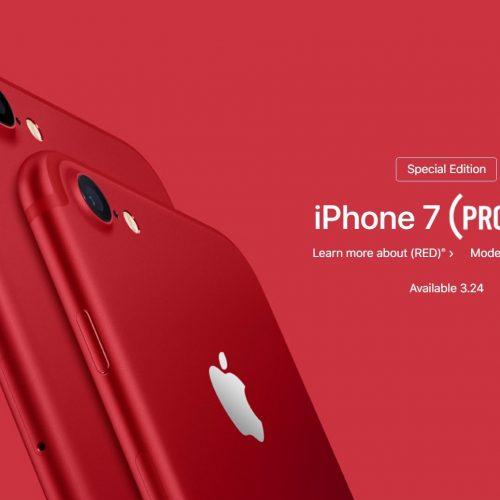 赤い新色、iPhone 8とiPhone 8 Plus (PRODUCT)REDが明日にも発売か