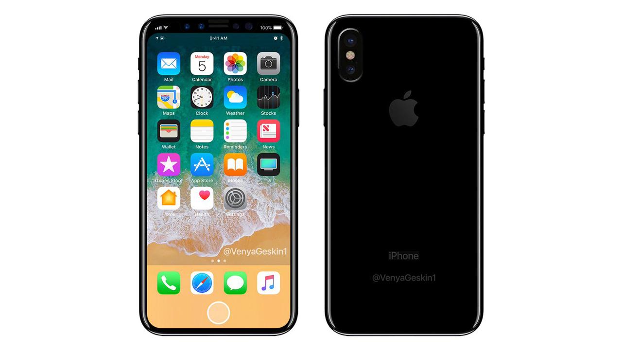 iPhone 8、仮想式のホームボタン搭載?「Touch ID」は廃止の噂