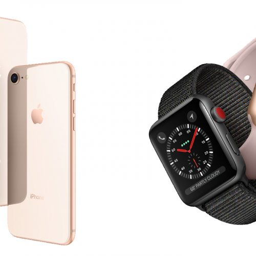iPhone 8/iPhone 8 Plus、Apple Watch Series 3の予約がスタート