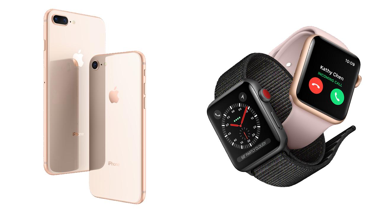 iPhone 8/iPhone 8 Plus、Apple Watch Series 3の予約がスタート