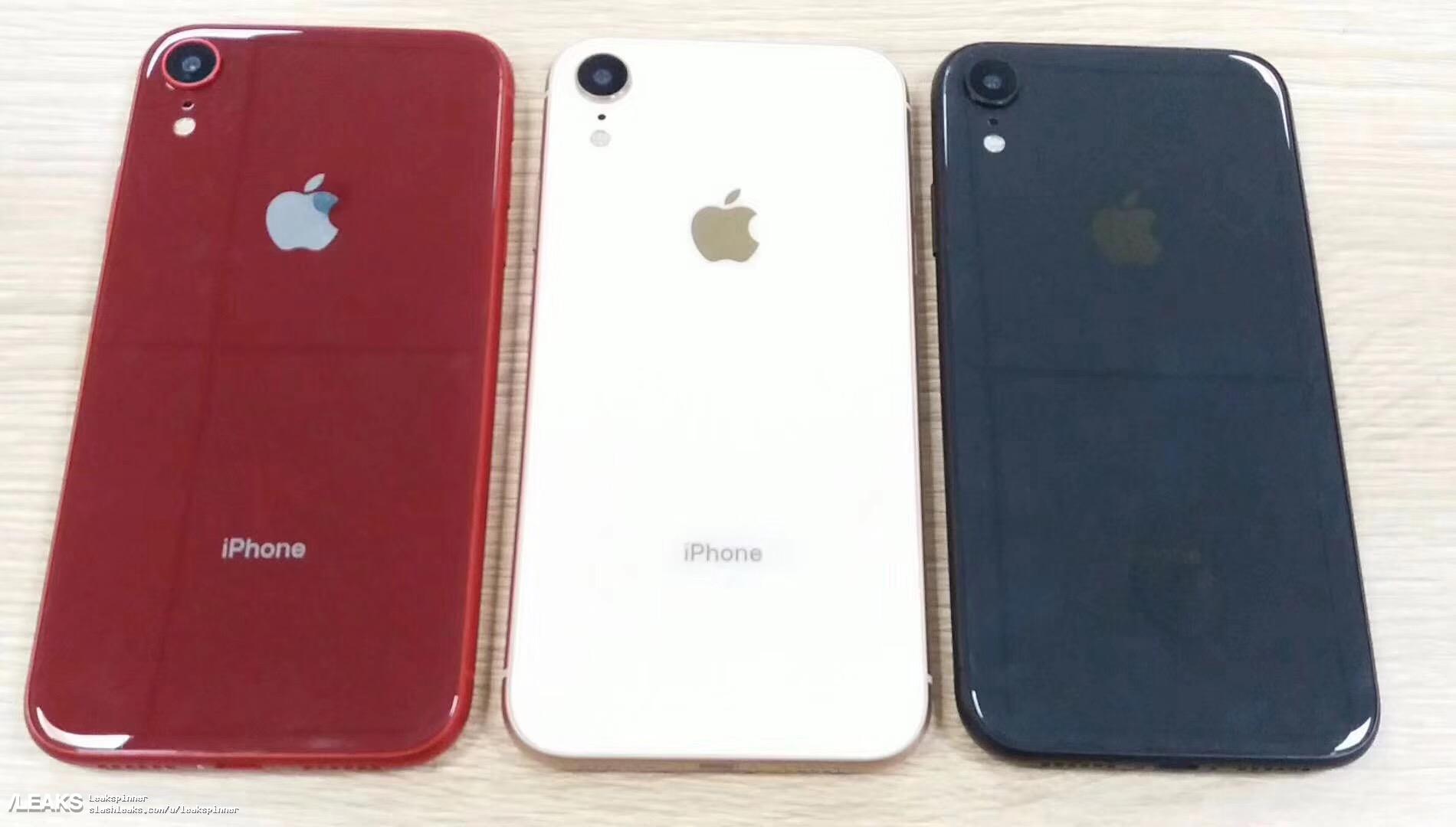 6.1インチ新型iPhone、デュアルSIMトレイとレッド・シルバー・ブルー・ピンクの4色モック登場