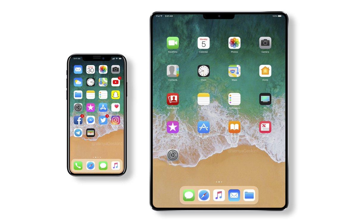 2018秋発売、3つの新型iPhoneと2つの新型iPadの存在が明らかに