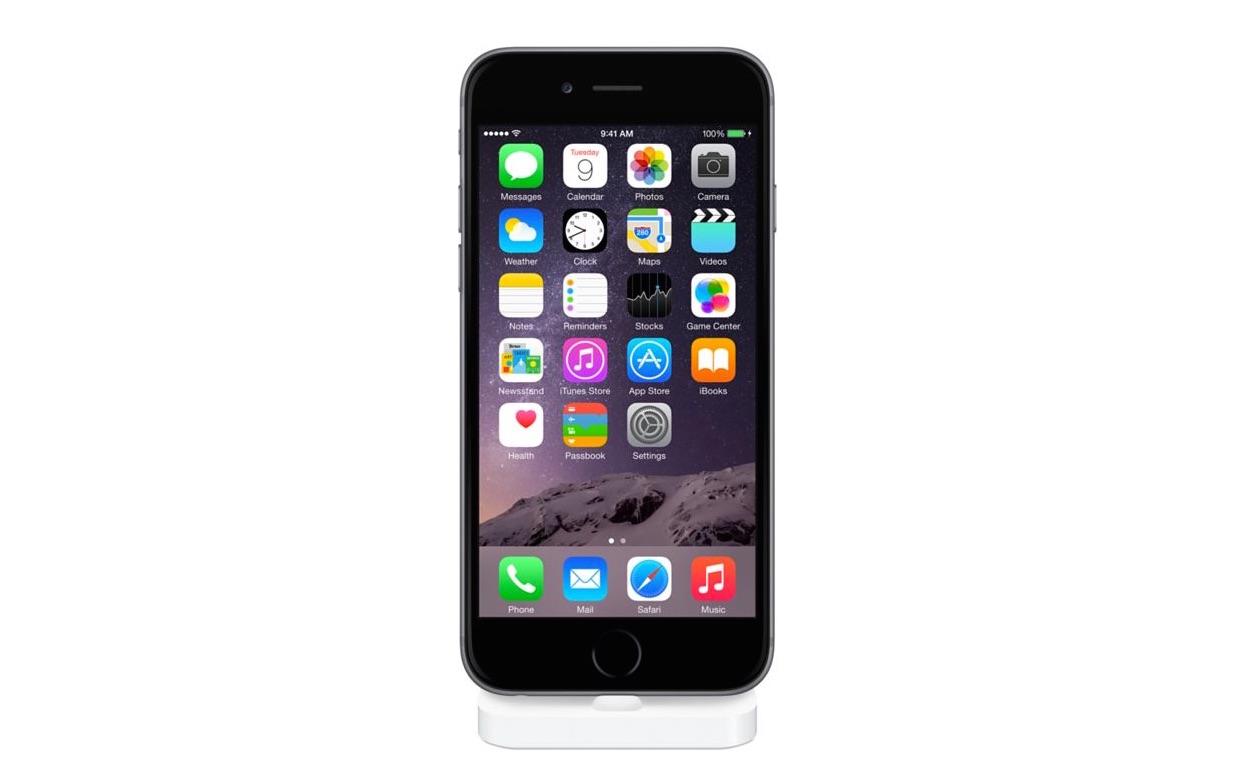 アップル、iPhone 6 / 6 Plusで使える専用ドック「iPhone Lightning Dock」を発売