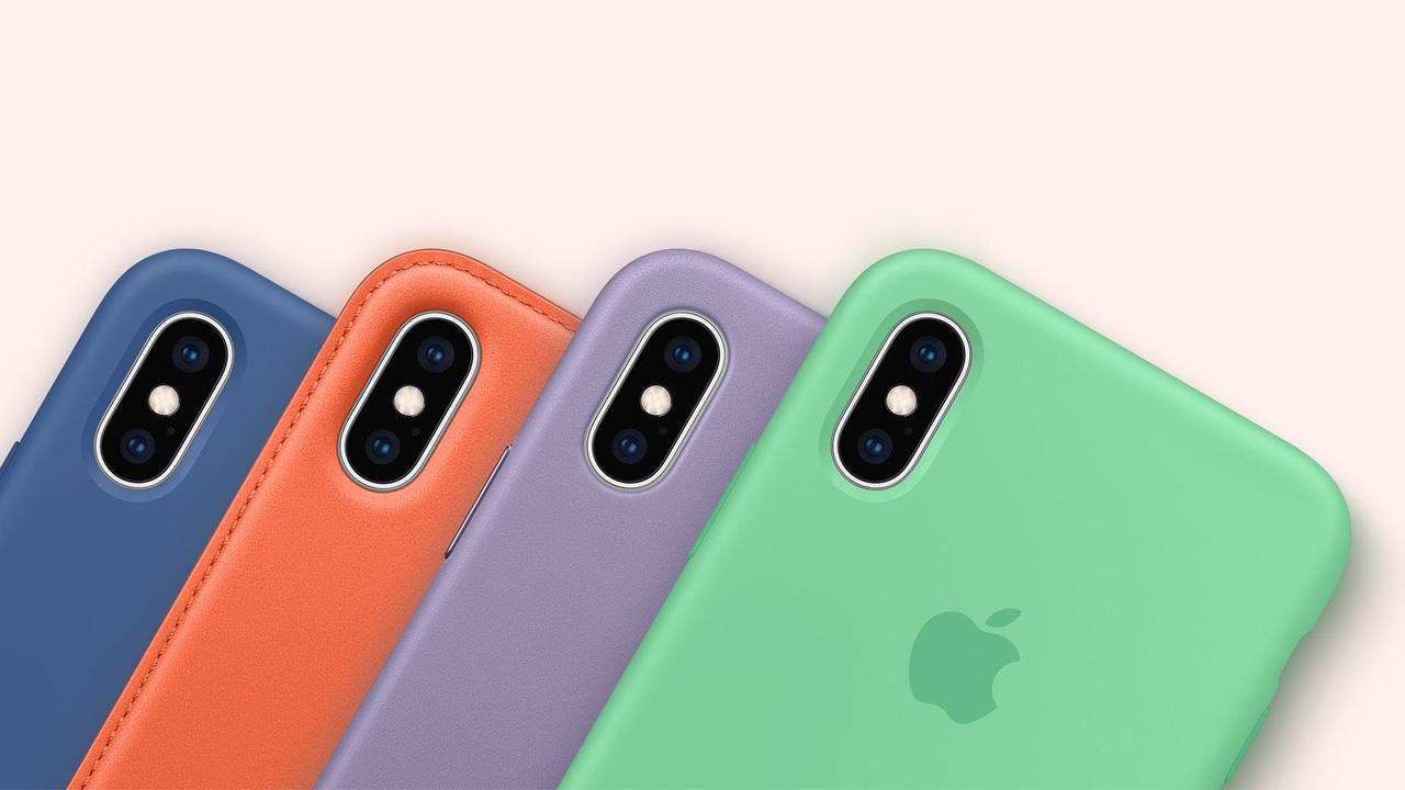 iPhone、爽やかな春の新色ケースが7色登場