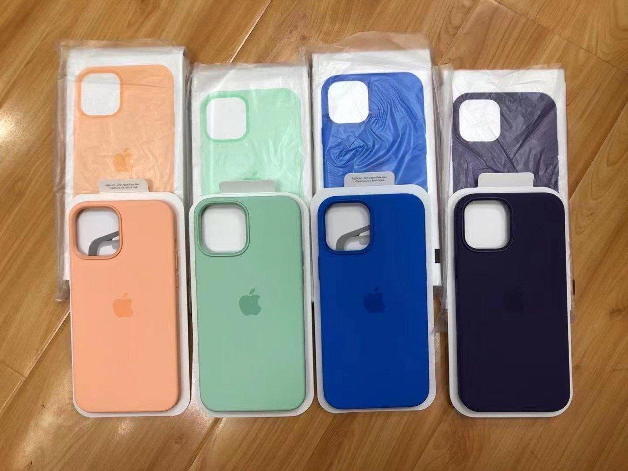 iPhone 12、2021年春の純正新色ケースが流出。ミントなど4色か