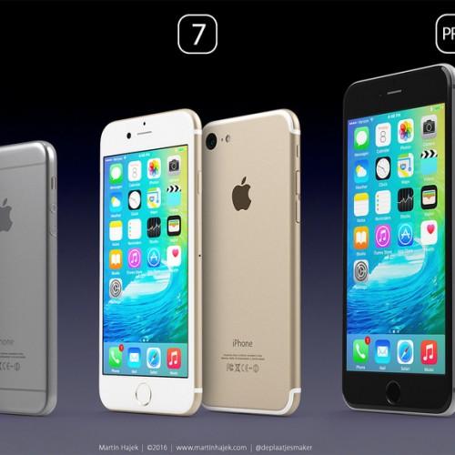 iPhone 7 / 7 Pro / SEのリアルなコンセプトイメージが公開