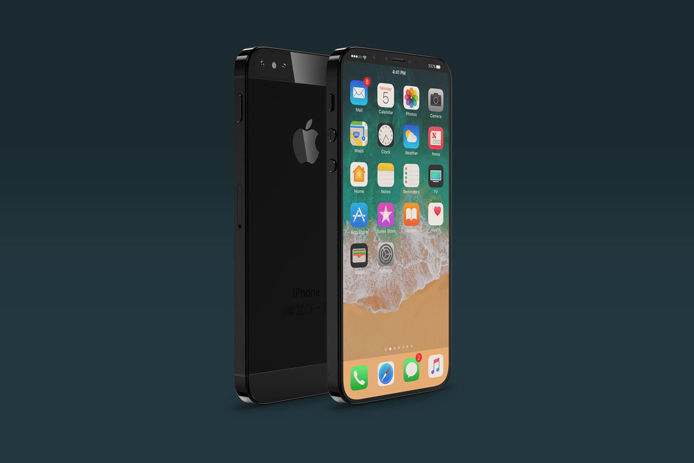 "「iPhone SE」の""iPhone X""風コンセプトイメージが登場"