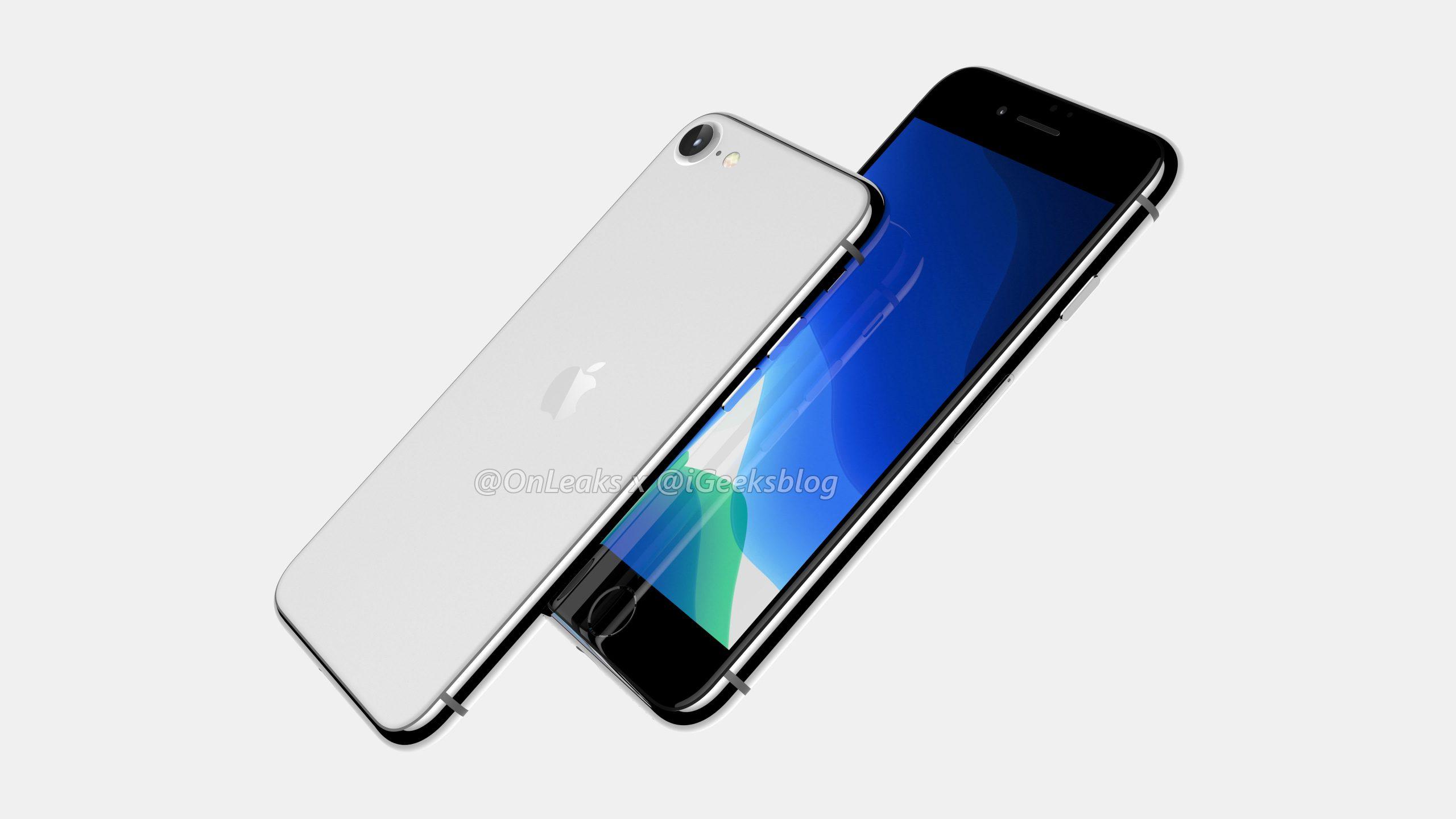 iPhone SE2/iPhone 9、レンダー画像登場。すりガラス採用か