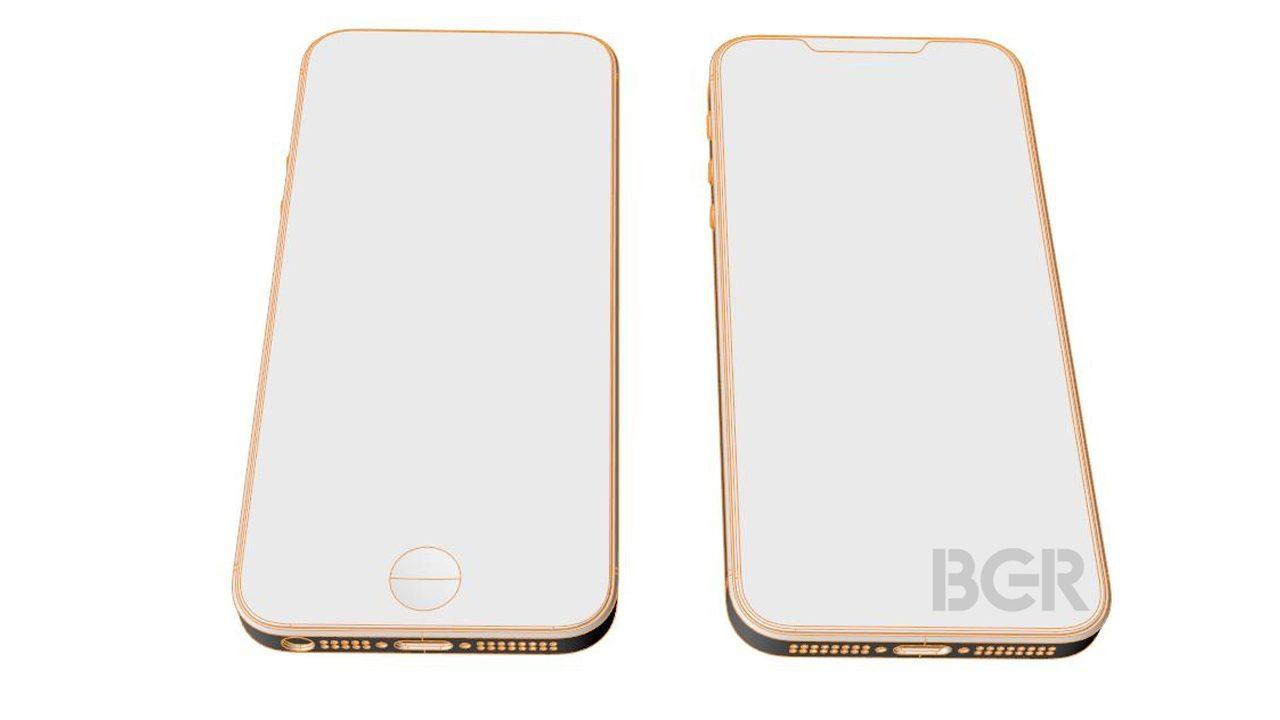 「iPhone SE2」、スケッチ流出。側面はSE、表はX?