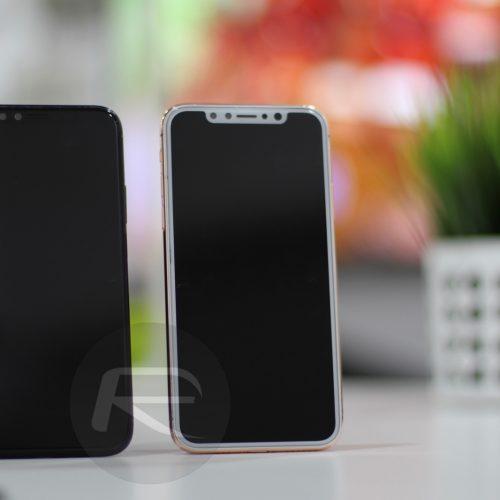 iPhone X、カラーはホワイト、ブラック、ゴールドの3色。前面は全てブラックに?